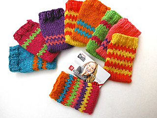 Ravelry: Colorful Gift Card Holders pattern by Marilyn Clark