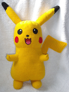 Amigurumi Free Patterns Bunny : Pikachu Amigurumi Pattern Related Keywords & Suggestions ...