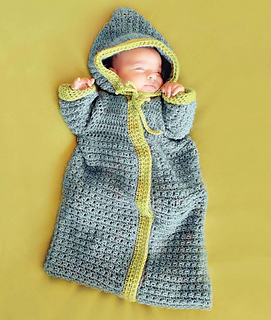 Ravelry: Baby Bunting pattern by Sandy Powers