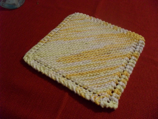 Ravelry: Basic Knitted Dishcloth pattern by Jane Lake