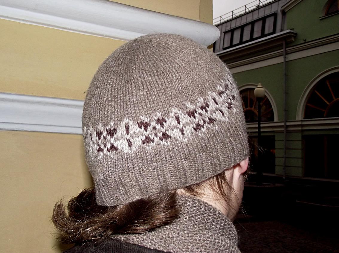 Как сделать убавки на шапке