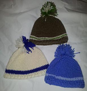 Ravelry: Little Bobble Beanie pattern by Authentic Crochet