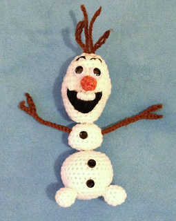 Ravelry: Snap-Apart Olaf pattern by Becky Ann Smith
