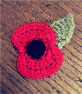 Knitted Poppy Pattern For British Legion : Ravelry: Crochet Remembrance Poppy pattern by Bilgewater Davis