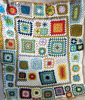Free Crochet Pattern For Granny Square Sampler : Ravelry: Granny Square Sampler Afghan pattern by Blair Stocker