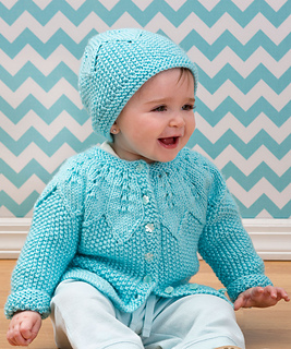 Ravelry Star Bright Baby Cardigan And Hat Pattern By