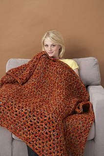 Ravelry 5 1 2 Hour Throw Aran Weight Q Hook Pattern By