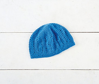 Ravelry: Lace Hat pattern by Loops & Threads Design Team