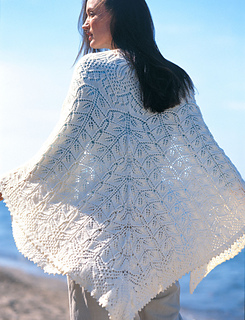 Ravelry: Heirloom Shawl / Lovely Lacy Shawl pattern by Patons