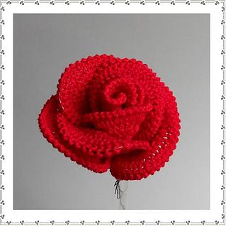 ravelry big rose pattern by claudia giardina. Black Bedroom Furniture Sets. Home Design Ideas