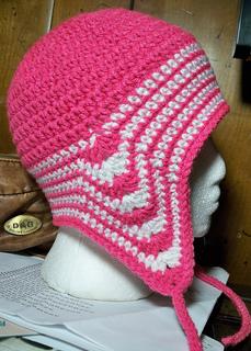 Ravelry: Easy Peasy Ear Flap Hat Pattern pattern by Julee Fort
