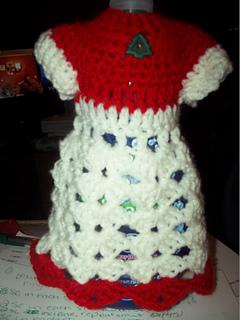 Ravelry Shell Dish Soap Bottle Dress Cozy Pattern By