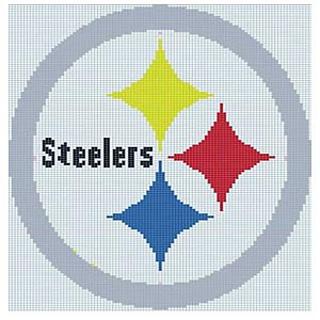 Ravelry Pittsburgh Steelers Logo Pattern By Deborah V