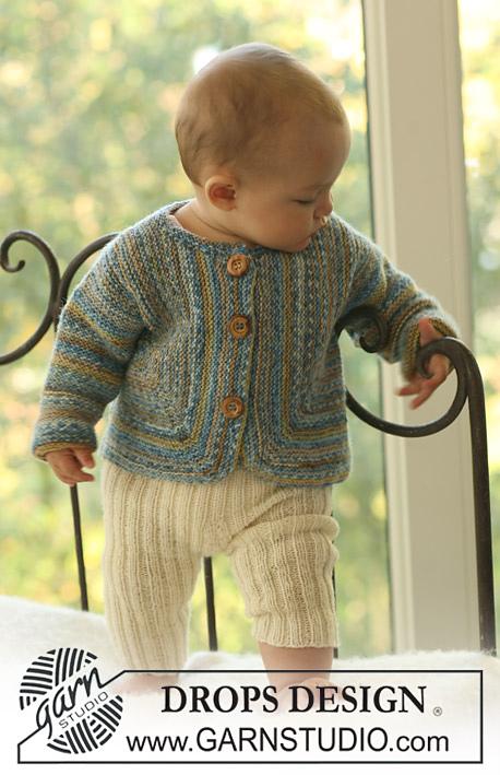 Жакет хустковою в'язкою і штанці для малюка