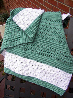 Ravelry Textured Reversible Lap Blanket Pattern By