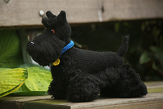 Ravelry: Scottish terrier pattern by Jessica Pilhede