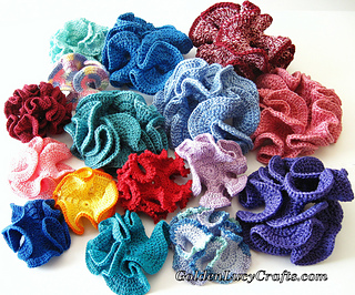 Free Crochet Patterns Using Size 3 Thread : Ravelry: Crochet Hyperbolic Coral pattern by ...