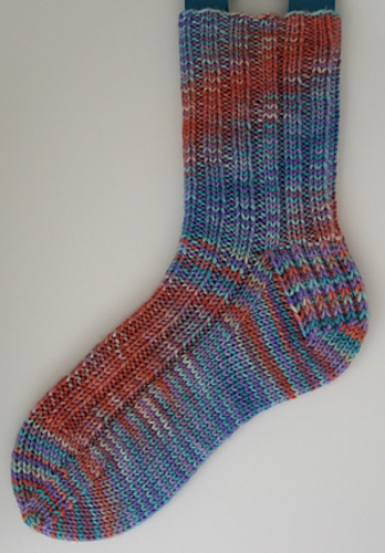 Knitting Pattern For Socks In The Round : Free Sock Pattern by Handwerks - Oliver Boliver
