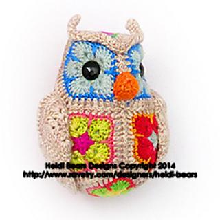 Ravelry: Fat Little Owl African Flower Crochet Pattern ...
