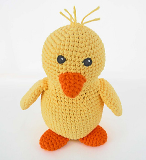 Amigurumi Ovalo : Ravelry: Amigurumi Duck: Timmy the Baby Duck pattern by ...