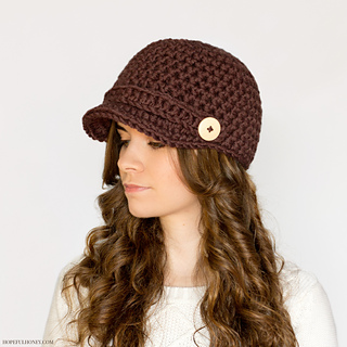 Ravelry Nifty Newsboy Hat Pattern By Olivia Kent