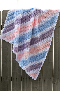 Ravelry Baby Corner To Corner Blanket Pattern By Roseanna