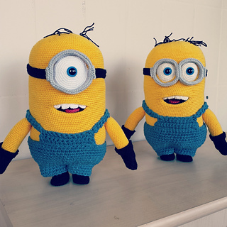 Free Crochet Pattern For Bob The Minion : Ravelry: Minion Stuart Bob pattern by Cleoschrochetart