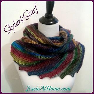Ravelry: Skylark Scarf pattern by Jessie Rayot
