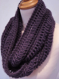 Infinity Scarf Knitting Pattern Ravelry : Ravelry: Edie Infinity Scarf pattern by Jeanette Sloan