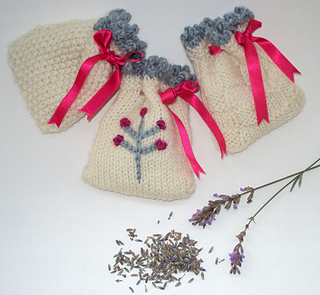 Knitting Pattern Lavender Bag : Ravelry: Knitted Lavender Bags pattern by Sian Brown Knitwear Design