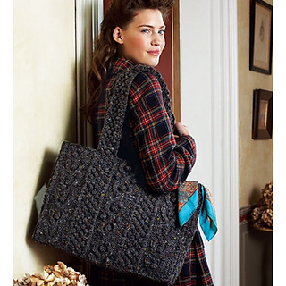 Debbie Bliss Tweed Shoulder Bag 117