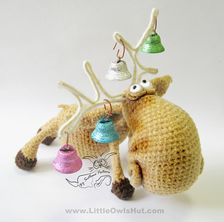 Wire Soul Amigurumi : Ravelry: 027 Moose Amigurumi toy with wire frame Ravelry ...