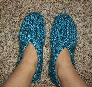 Ravelry Grandma S Knitted Slippers Pattern By Zanne
