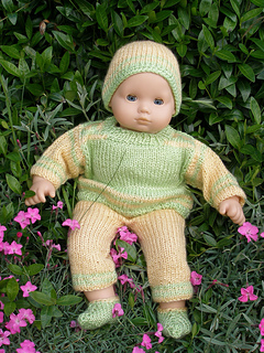 Ravelry: American Girl Bitty Baby Ruth pattern by Ase Bence