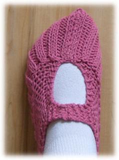 Knitting Pattern For Pocketbook Slippers : Ravelry: Pocketbook Slippers pattern by Lisa Vienneau & Allison Barrett