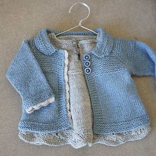Ravelry Free Knitting Patterns For Toddlers : Ravelry: Charlee Baby Girl Jacket/Coat pattern by Lotta Arnlund