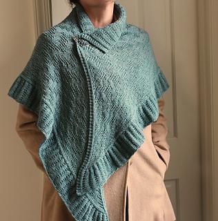 Hawkesbury Wrap pattern by Laura Aylor