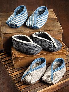 Ravelry: Adult Tiptoe Slippers (Knit) pattern by Lena ...