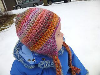 Free Crochet Basic Earflap Hat Pattern : Ravelry: Seamless Earflap Hat pattern by Lindsey Carr
