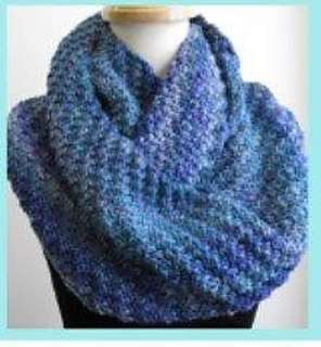 Ravelry: Diagonal Rib Cowl and Scarf pattern by Joan Janes