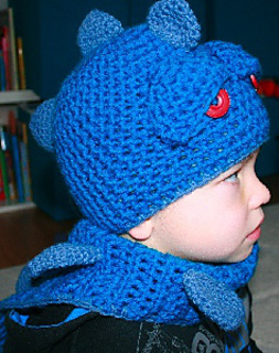 Ravelry Crochet Dinosaur Dragon Hat With Scarf Pattern By