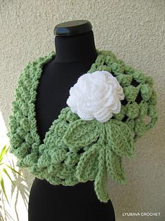 Ravelry: Chunky Infinity Scarf Crochet Popcorn Stitch ...