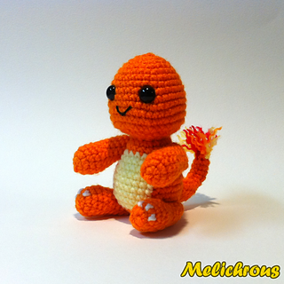 Amigurumi Charmander Free Pattern : Ravelry: Charmander Pattern Crochet Amigurumi PDF pattern ...