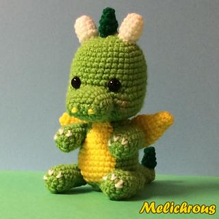 Ravelry: Drizzle the Dragon Pattern Crochet Amigurumi PDF ...