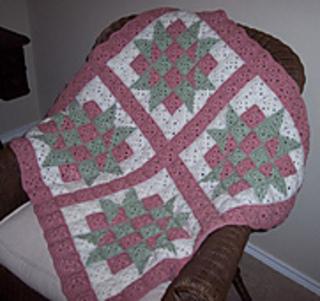 Crochet Patterns Quilt Blocks : Ravelry: Baby Blocks Crochet Quilt pattern by C.L. Halvorson