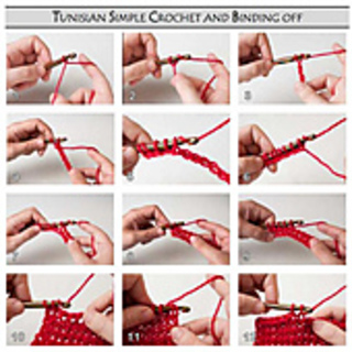 Beginner Left Handed Crochet Patterns : Ravelry: Left-Handed Instruction Pictures for Tunisian ...