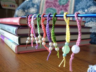 Ravelry: Simply Crocheted Stitch Markers pattern by PickleSoup