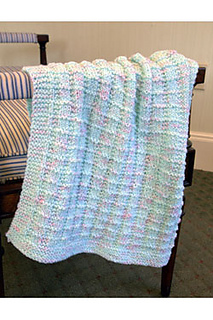 Ravelry F608 Textured Blankie Pattern By Plymouth Yarn