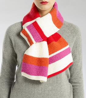 Ravelry: Knit Striped Scarf pattern by Isaac Mizrahi Craft Design Team
