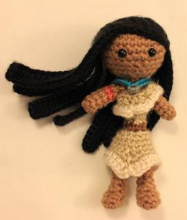 Amigurumi Yarn Ply : Ravelry: Pocahontas Amigurumi Doll pattern by Sahrit Freud ...